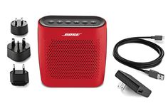 Discover the SoundLink Color II portable Bluetooth speaker with water-resistant design from Bose. With wireless connectivity, SoundLink Color II is engineered to deliver bold sound wherever life takes you. Bluetooth, Wireless Speakers, Batterie Rechargeable, Home Speakers, Usb, Red Color, Audio, Techno, Amazon