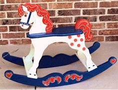 Circus Rocking Horse Woodworking Plans