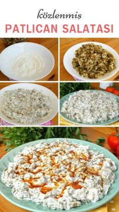 I Love Food, Good Food, Yummy Food, Roasted Eggplant Salad, Cooking Recipes, Healthy Recipes, Yummy Recipes, Turkish Recipes, Pasta