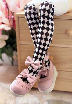 1/4 bjd girl doll pink color lolita shoes msd mdd dollfie dream #S-91M #blueblooddoll #bjddollshoes
