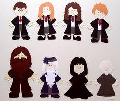 Harry Potter Paper dolls