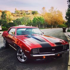 69 Camaro SS/RS  My dream muscle car