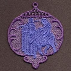 FSL Nativity Ornaments 10 - 4x4 | What's New | Machine Embroidery Designs | SWAKembroidery.com Ace Points Embroidery