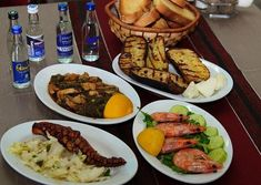 Seafood, Sausage, Beef, Chicken, Greece, Sea Food, Meat, Greece Country, Sausages