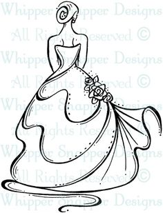 Bride's Back - Wedding Images - Wedding - Rubber Stamps - Shop