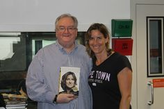 Katherine Grainger with Danny Kelly at TalkSport for 'My Sporting Life' interview