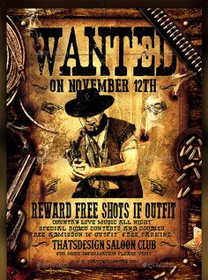 Printable Wanted Posters Free Old Western Wanted Posters  Free Download Old West Wanted .