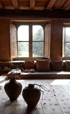 "INTERIORS THAT INSPIRE Antique dealer, curator and interior designer Axel Vervoordt's ""Kanaal and Castle"""