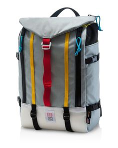 e0205c04a0f1 The Topo Mountain Pack Silver can do it all. Ideal backpack for hiking