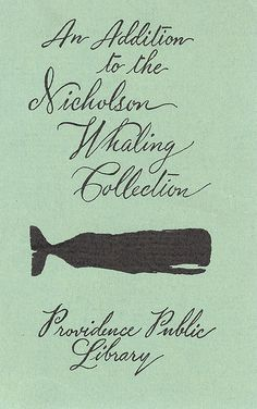 NICHOLSON WHALING Collection | Bookplate
