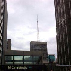 Estação Consolação - Avenida Paulista - São Paulo - Brazil