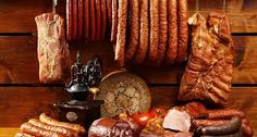 Country table with sausage and ham Kidney Disease Diet, Food Stations, Ham, Sausage, Grilling, Blog, Eat Smarter, Summary, Study