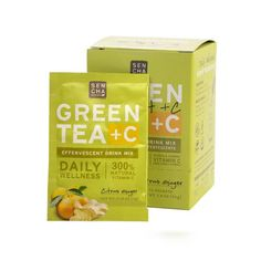 Citrus Ginger Green Tea +C: Add some spice to your leaf. Gingery warm and citrusy bright, a stimulating, potent alternative to your traditional tea routine.