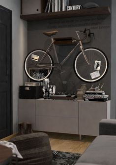 How To Store Your Bike: 5 Brilliant Ways And 37 Examples | DigsDigs: