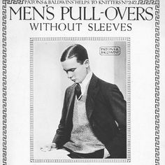 Pullovers without sleeves !  #fromthearchives