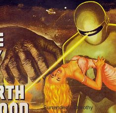 Day The Earth Stood Still 1950s Sci Fi Horror by SurrenderDorothy, $13.89