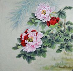 Qiao Sisters (Chinese Peony Painting)
