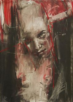 "Guy Denning ""inside out"" conte and pastel on paper Human Emotions, Elements Of Art, Urban Art, Contemporary Artists, Beautiful Words, Amazing Art, Guys, Portrait, Drawings"