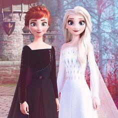 Anna and Elsa Disney Pixar, Frozen Disney, Princesa Disney Frozen, Frozen Elsa And Anna, Disney Memes, Disney And Dreamworks, Walt Disney, Frozen Frozen, Frozen Movie