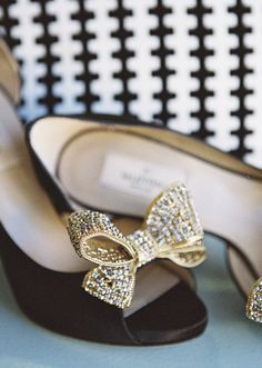 Valentino wedding shoes | photos by Braedon Flynn | 100 Layer Cake