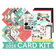 Did you see our April 2016 Card Kit?