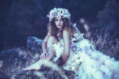 Strike Taing Bohemian Project 2 Model : Angela Purcell HMUA : Timber Gwan Kerby  Floral Composition : Svetlana Chernyavsky Cfd