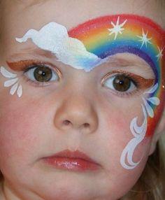 arco-irirs-fantasia-de-ultima-hora_mais-de-50-ideias-para-pintura-facial-infantil
