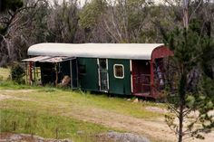Australian train carriage to shed conversion...