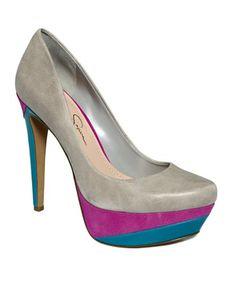 Jessica Simpson Shoes, Beijo Platform Pumps ($98)