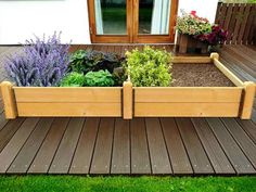 The Deluxe high timber raised bed vegetable gardening kit, made from thick treated timber. Ideal for growing any fruit or vegetables. Raised Bed Kits, Raised Garden Beds, Raised Beds, Allotment, How To Level Ground, Garden Planters, Vegetable Garden, Organic Gardening