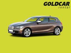BMW Serie 1 ¡Puede alquilarlo en cualquiera de las 52 oficinas de Goldcar!