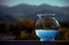 Blick durch die Glaskugel