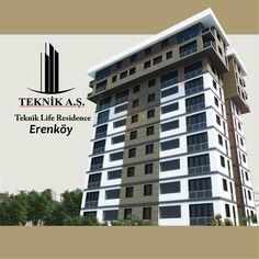 Teknik Life Residence / Erenköy, ANASAYFA, Teknik A.Ş.   Teknik A.Ş.