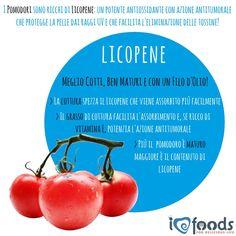 E' stagione di #Pomodori che, grazie alla presenza del #licopene, sono dei potentissimi #antiossidanti! #Ilovefoods