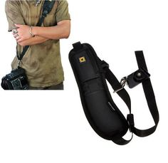 Camera Shoulder bag Single Shoulder Sling Black Strap Belt Sling Sponge Pad For Canon for Nikon for Sony DSLR Camera YE002 SZ+-in Camera/Video Bags from Consumer Electronics on Aliexpress.com | Alibaba Group