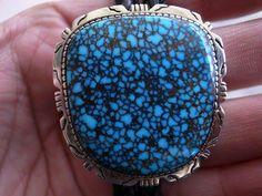 Lander Blue Turquoise Bolo