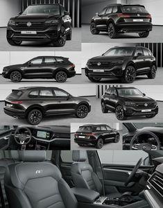 Cars Vw Toureg, Tiguan R Line, Best Family Cars, Car Interior Design, Black Rims, Audi A3 Sportback, General Motors, Car Car, Concept Cars