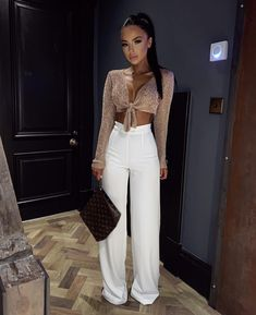 Shop a great selection of High Waist Women Wide Leg Pants Casual Solid Trousers Women Loose Beach Full Length Pants. Find new offer and Similar products for High Waist Women Wide Leg Pants Casual Solid Trousers Women Loose Beach Full Length Pants. Neue Outfits, Sporty Outfits, Night Outfits, Cute Casual Outfits, Stylish Outfits, Spring Outfits, Classy Outfits For Going Out, Dinner Outfits, Look Fashion