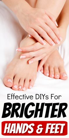 3 Effective DIYs For Brighter And Glowing Hands And Feet – Natural Health Remedies Beauty Tips For Glowing Skin, Beauty Skin, Beauty Care, Diy Beauty, Skin Tips, Skin Care Tips, Skin Care Remedies, Health Remedies, Natural Remedies