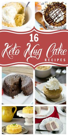Mug cakes are the easiest way to bake up a little snack. In a matter of minutes, you could be enjoying a delicious gluten-free chocolate mug cake or a mini keto low-carb birthday cake!