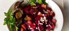 Салат из свеклы с грибами ========================== Рецепт приготовления салата из свеклы с грибами - как минимум три варианта :-)
