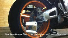 License Plate Hide Kits 4 car / bike by 007LicensePlate .com  #car #motorcycle #automotive