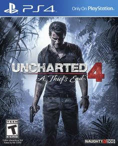 Uncharted comes to the PlayStation A Thief's EndSeveral years after his last adventure, retired fortune hunter, Nathan Drake, is forced… Nathan Drake, Xbox 360, Last Of Us, Playstation Games, Ps4 Games, Games Consoles, The Legend Of Zelda, Games Gratis, Free Games