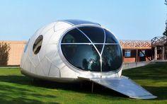 Solar Powered pod house
