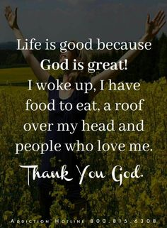 Thank you God. Spiritual Quotes, Positive Quotes, Thank You God, Bible Quotes, Prayer Quotes, Encouragement Quotes, Inspirational Message, Happiness, Good Thoughts
