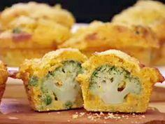 Muffin nutritivo con brócoli ... Narda Lepes