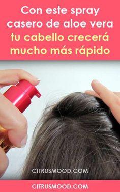 Con este spray casero de aloe vera tu cabello crecerá mucho más rápido Diy Skin Care, Skin Care Tips, Beauty Soap, Hair Beauty, Up Hairstyles, Pretty Hairstyles, Beauty Secrets, Beauty Hacks, Gel Aloe