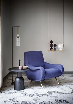 Presented at the 9th Triennale of Milan in 1951 – where it won the gold medal - this armchair is an icon of modernity. It was the product of a major technical/material innovation (rubber and springs with nastrocord, brought together) which, turning the traditional way of creating sofas and armchairs on its head, involved the separate manufacture of the parts and their subsequent assembly.  Discover more on: http://cassina.com/en/collection/sofas-and-armchairs/720-lady