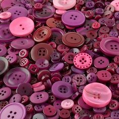 Purple crafting buttons made from polyester for sale in an assortment of shapes, sizes and shades of purple colours. Ideal for sewing projects, art work and crafting projects, buttons for sale in shades of purple are very popular. Purple Colour Shades, Color, Wholesale Buttons, Button Image, Sewing Projects, Craft Projects, Buttons For Sale, Button Crafts, Haberdashery