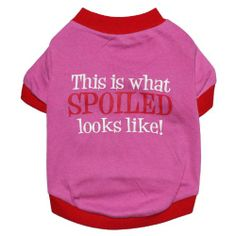 Pet Clothes Hot Pink Dog T Shirt Cute Letters Printed Dog Clothing Small Dogs Clothes High Quality Cotton Dog Costume (XS) - http://www.thepuppy.org/pet-clothes-hot-pink-dog-t-shirt-cute-letters-printed-dog-clothing-small-dogs-clothes-high-quality-cotton-dog-costume-xs/